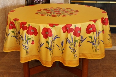 PRINTED COTTON TABLECLOTHS