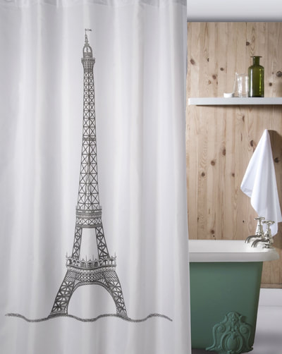 EUROPEAN DESIGN SHOWER CURTAINS - European Classic Bathroom Decor - Home Decor Gifts