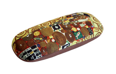 FULFILMENT by Gustav Klimt Art Designs hard shell Eyeglass Cases