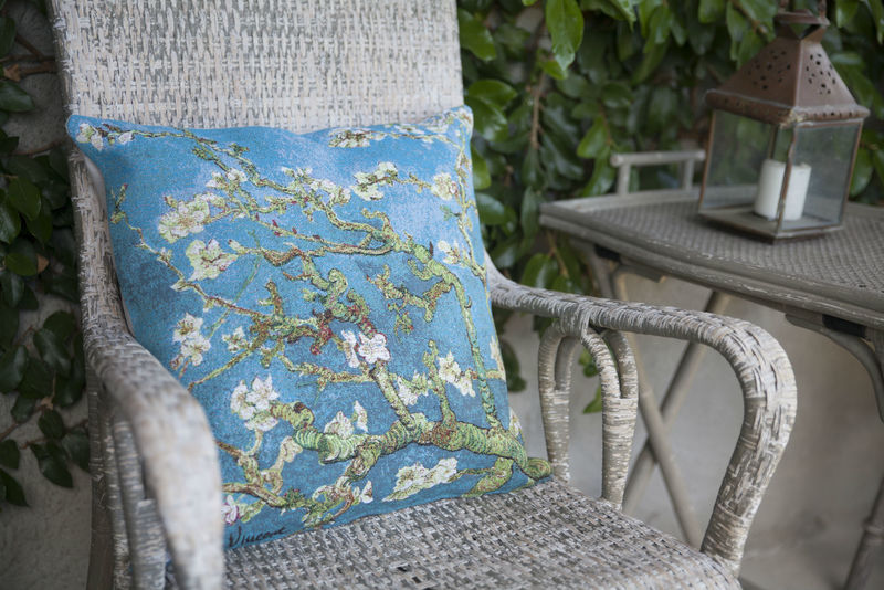 Provence Decor - Gobelin Jacquard Woven European Tapestry Pillow Covers - Throw Pillow Cases