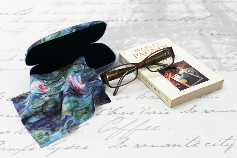 Provence Decor - European Art Designs Eyeglass Cases