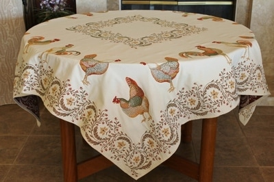 Provence Decor - French Provence Jacquard Woven Tapestry Tablecloths