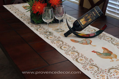 Provence Decor - French Provence Jacquard Woven Tapestry Runners
